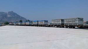 Omsan, Denizli Çimento taşıma işbirliği