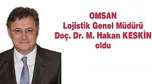 OMSAN Lojistik'e yeni Genel Müdür atandı