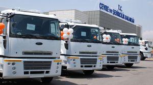 Otokoç Ankara'dan Çevre ve Şehircilik Bakanlığı'na 20 araç