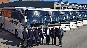 Öz Diyarbakır 19 Tourismo, 5 Travego aldı