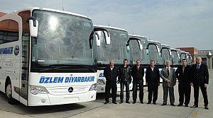 Özlem Diyarbakır filosuna 10 Travego
