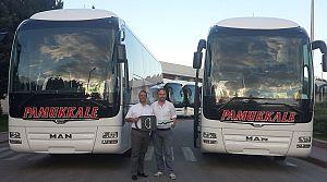 Pamukkale 2 MAN Lion's Coach 2+1 VIP aldı