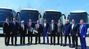 Pamukkale Turizm 75 MAN ve NEOPLAN otobüs yatırımı yaptı