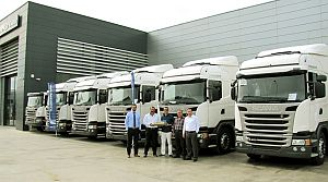 Scania'dan İzmirli lojistikçilere 28 araç