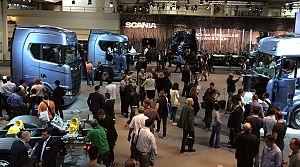 Scania yeni araç teknolojilerini tanıttı