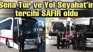 Sena Tur ve Yol Seyahat'in tercihi Safir