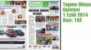 Taşıma Dünyası Gazetesi_152 PDF 1 Eylül 2014