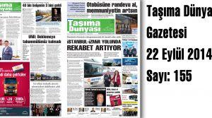 Taşıma Dünyası Gazetesi_155 PDF 22 Eylül 2014