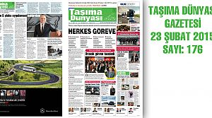 Taşıma Dünyası Gazetesi_176 PDF 23 Şubat 2015