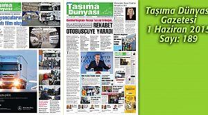 Taşıma Dünyası Gazetesi_189 PDF 1 Haziran 2015