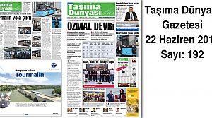 Taşıma Dünyası Gazetesi_192 PDF 22 Haziran 2015