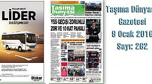 Taşıma Dünyası Gazetesi_262 PDF 9 Ocak 2017