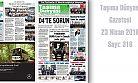 Taşıma Dünyası Gazetesi 316 PDF 23 Nisan 2018