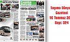 Taşıma Dünyası Gazetesi 324 PDF 16 Temmuz 2018