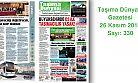 Taşıma Dünyası Gazetesi_330 PDF 26 Kasım 2018