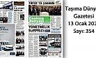 Taşıma Dünyası Gazetesi 354 PDF 13 Ocak 2020