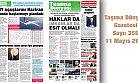 Taşıma Dünyası Gazetesi Dijital Yayını Sayı 359 Tarih 11 Mayıs 2020 PDF