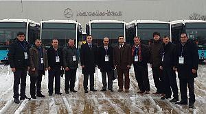 Tekirdağ'a 10 Mercedes-Benz Conecto Solo