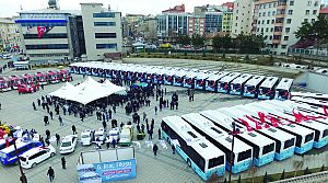 Temsa'dan Erzurum Belediyesine 40 Otobüs