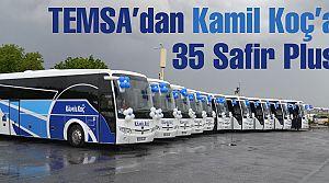 TEMSA'dan Kamil Koç'a 35 Safir Plus