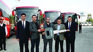 Temsa'dan Lider Adana Turizm'e 10 Safir VIP