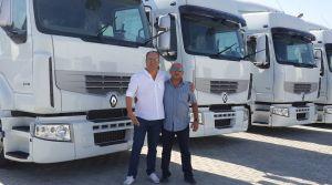TRF Lojistik, Renault Trucks ile başladı