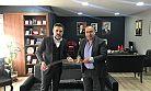 Yalçın Şahin'den Talip Öztürk'e hayırlı olsun ziyareti