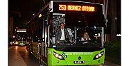 268 otobüsle günde 110 bin insan taşınıyor