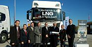 Acarpet ve Havi Lojistik LNG'li Scania