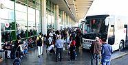Ankara'da otobüslere indirme-bindirme
