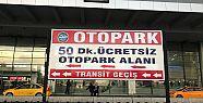 AŞTİ'de ücretsiz otopark süresi 50