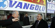 Başkan Memduh Büyükkılıç Kayseri Otogarı'nı