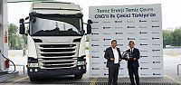 CNG'li ilk kamyon Naturelgaz'a