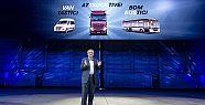 Daimler, Hannover'de gövde gösterisi yapıyor