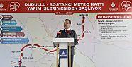 Dudullu-Bostancı hattı 2022'de hizmete