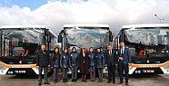 Eskişehir'in ilk kadın otobüs şoförleri
