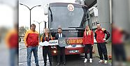 Galatasaray Basketbol takımı da TEMSA'yı