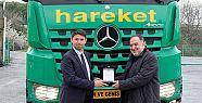 Hareket'e 120 tonluk Mercedes-Benz Arocs