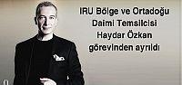 Haydar Özkan'dan IRU'ya veda