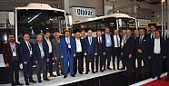 İSTAB Busworld Turkey Fuarı'nda üreticilerle