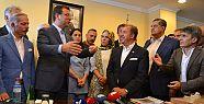 İstanbul Otogarı Esnaflar Derneği İmamoğlu'na