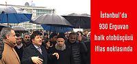 İstanbul'da 930 Erguvan halk otobüsçüsü...