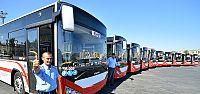 İzmir ulaşımına 100 körüklü otobüsün...