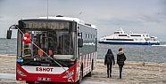 İzmir'de 1200 otobüs hizmet vermeye