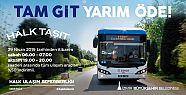 """İzmir'de """"Halk Taşıt"""" uygulaması"""