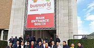 İzmirli taşımacılar Busworld Fuarı'ndae