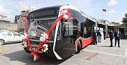 Kayseri toplu taşımasına 44 otobüs
