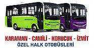 Kocaeli - Sakarya otobüs seferleri 2 Temmuz'da