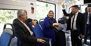 Kocaeli'nde tramvay günlük 25 bin yolcu