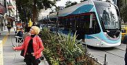 Konak'ta tramvay heyecanı